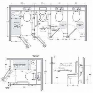 Toilet Cubicle Dimensions Interiors Ref