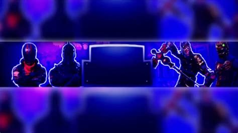 fortnite banner template  text youtube