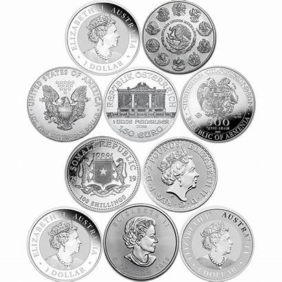 Coin Silver Coins Popular 1oz Collections Atkinsonsbullion