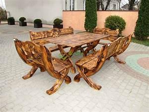 Gartenmöbel Set Aus Holz : gartenm bel aus massivholz ~ Whattoseeinmadrid.com Haus und Dekorationen