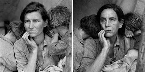 photographer recreates famous portraits  john