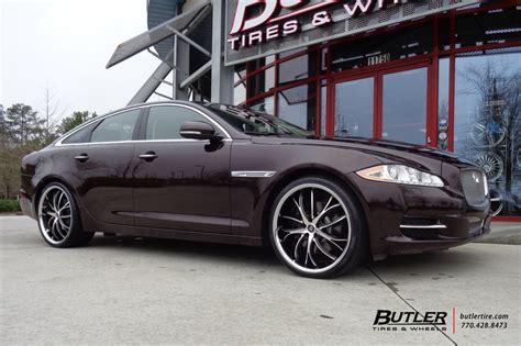 jaguar xj   lexani polaris wheels exclusively