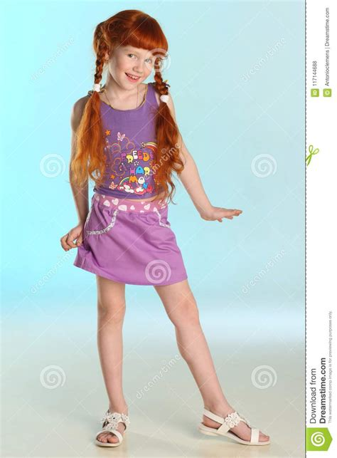 redhead pre teen fashion girl model   summer