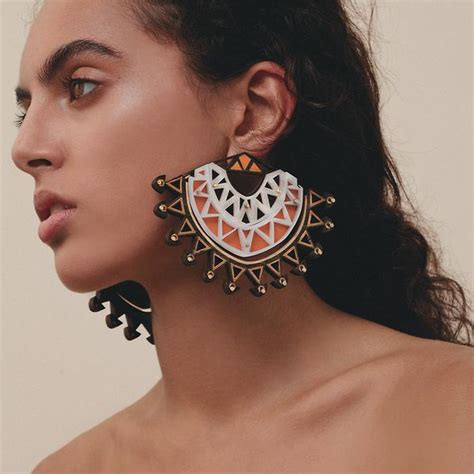 statement earrings are back in fashion