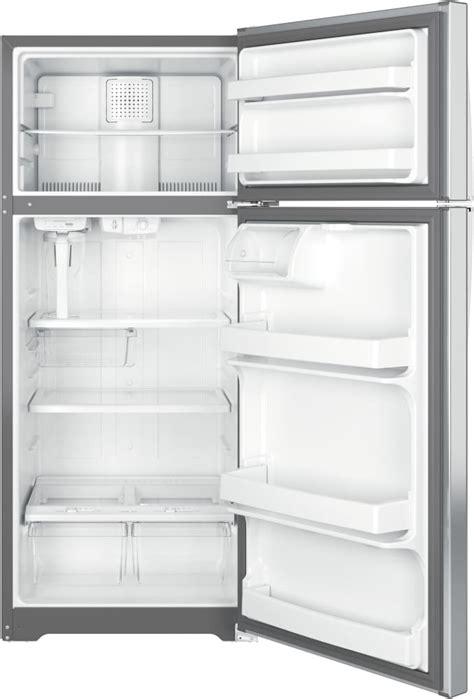 ge gasp   top freezer refrigerator   cu ft capacity autofill pitcher