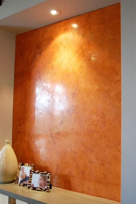 venetian plaster   similar color   dining