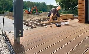 Terrasse Günstig Bauen : bauanleitung terrasse selber bauen bauplan auf ~ Michelbontemps.com Haus und Dekorationen