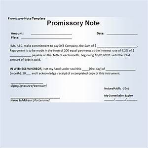 15 promissory note templates With free online promissory note template