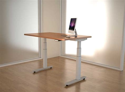 adjustable height office desk adjustable height desks break the monotony at the office