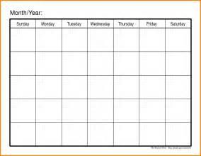 2017 Monthly Work Schedule Template