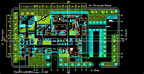 salud center plants dwg block  autocad designs cad