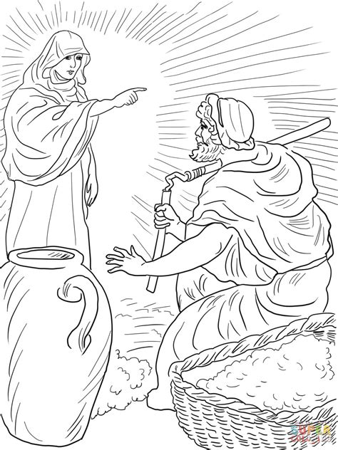 gideon coloring page  coloring home