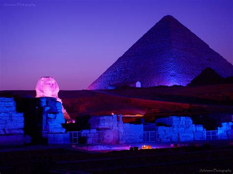 civilization sound and light show at the pyramids