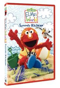 Sesame Street Elmo's World Summer Vacation DVD
