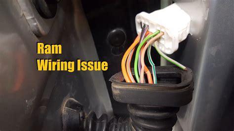 dodge ram wiring issue   anthonyj youtube