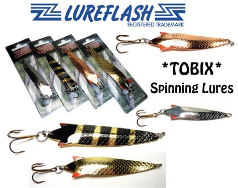 toby lure type tobix  spinning lures  salmon