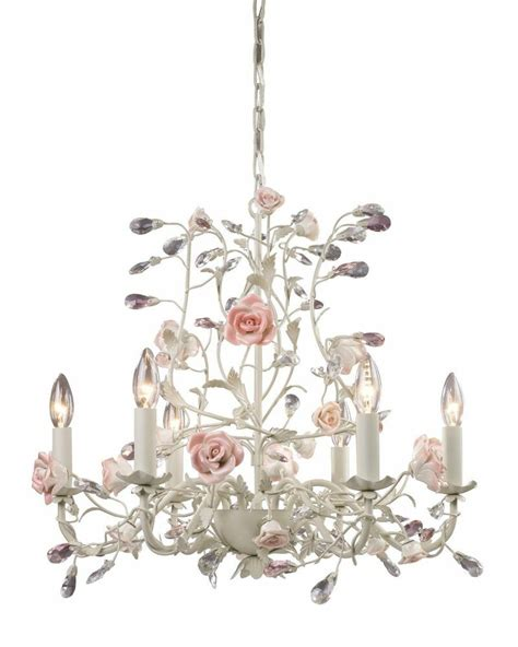 chandelier shabby chic country cottage porcelain chandelier vintage