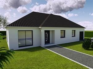 modele de maison individuelle beaune par plurial essentiel With facade maison plain pied3