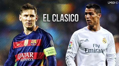 FC Barcelona vs Real Madrid 1-2 El Clasico Promo | 02/04 ...