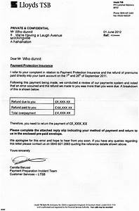 lloyds tsb ppi claim letter template can you download on With ppi claim letter template for credit card