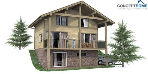house plans  narrow lots sloping
