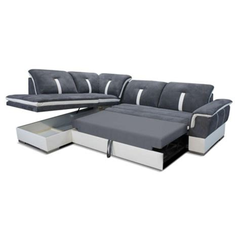 canape d angle coffre grand canap 233 d angle convertible et coffre confort exeptionelle la caverne d alibaba