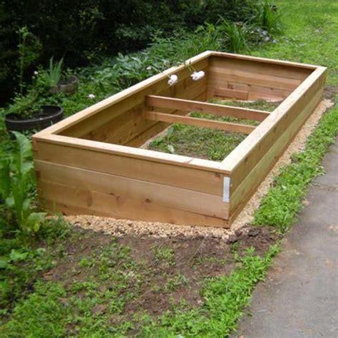 cedar raised garden beds cedar raised bed garden kits 4 x6