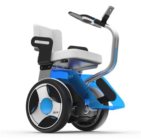 chaise roulante électrique gyropode nino de nino robotics un fauteuil roulant