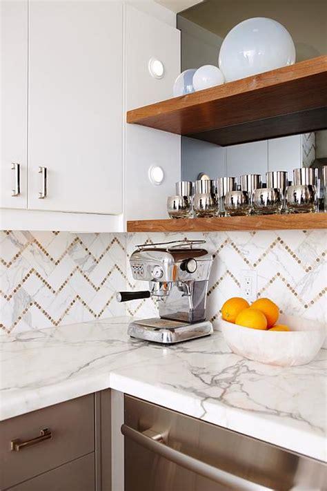 chevron tile backsplash contemporary kitchen sarah