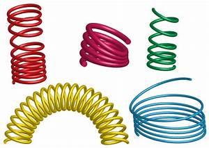 3D Coil Springs Vector Illustrator | Download Free Vector ...