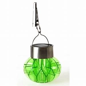 Luminaire Exterieur Solaire : lampe solaire suspendre ~ Teatrodelosmanantiales.com Idées de Décoration