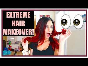EXTREME HAIR MAKEOVER! - YouTube