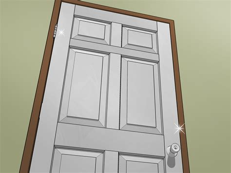 paint oak doors white  pictures wikihow