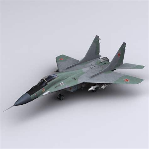3d Mig 29 Fulcrum Jet Fighter Model