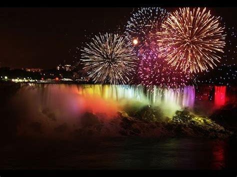 niagara falls firework youtube
