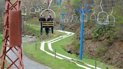 ober gatlinburg scenic chairlift chairlift and alpine slide ober gatlinburg gatlinburg