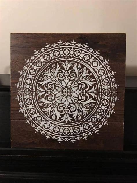 ways  decorate  mandala stencils stencil stories