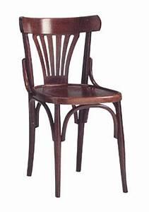 Chaise Bistrot Metal : chaise bistrot en bois bistrot ~ Teatrodelosmanantiales.com Idées de Décoration