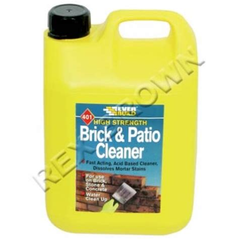 everbuild 401 brick patio cleaner 5ltr wholesalers of