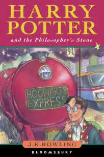 Harry Potter and the Philosophers Stone Book Cover