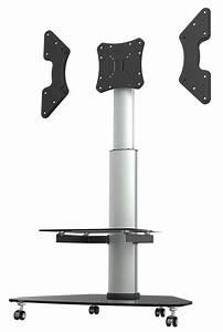 Tv Standfuß Höhenverstellbar : tv standfu mit rollen h henverstellbar neigbar fs0200 11182 ~ Watch28wear.com Haus und Dekorationen