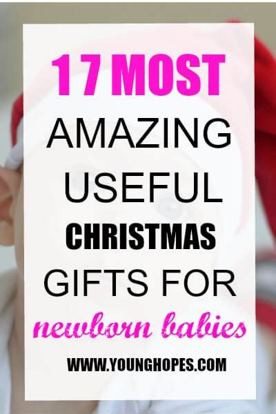 17 most amazing good christmas gifts for a newborn baby
