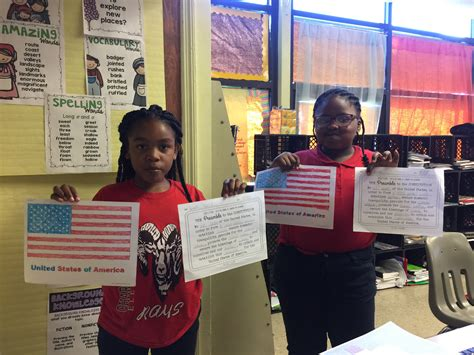 charles hard elementary highlights constitution day