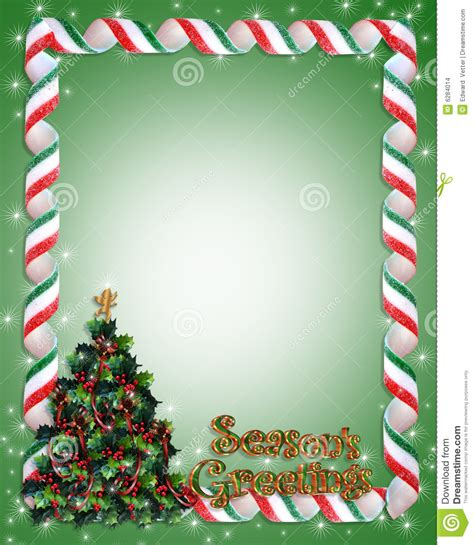 christmas tree frame border stock images image