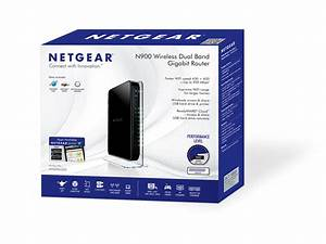 Netgear N900 Dual Band Gigabit Wifi Router  Wndr4500