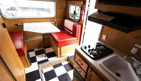 retro xl small travel trailers
