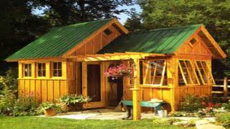 cottage plans ideas amish garden sheds garden shed ideas tiny houses