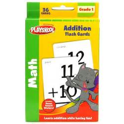 Playskool Addition Flash Cards, Multicolor