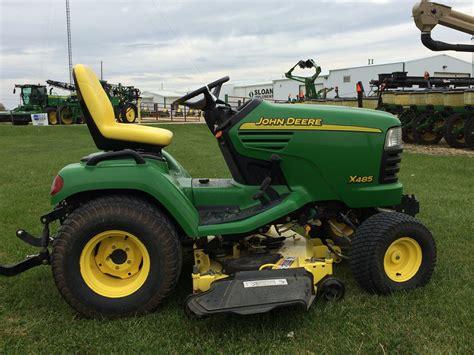 deere patio tractor value deere x485 lawn garden tractors for sale 52326