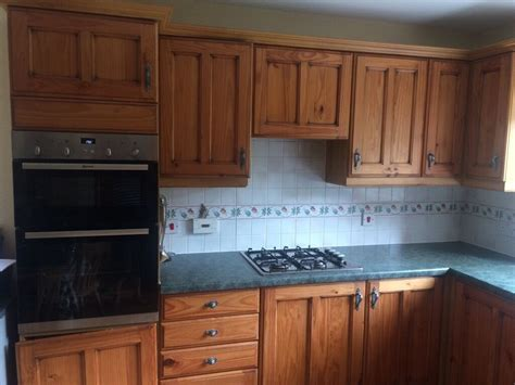 reduced  quick sale solid wood doors kitchen units